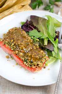 Maple Walnut Crusted Salmon Delicious Meets Healthy