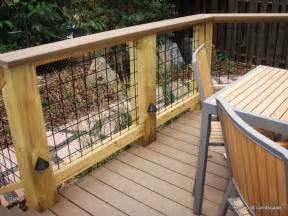 Wire Mesh Deck Railing