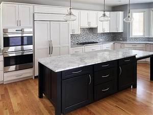 Create, A, Modern, Kitchen, With, Dark, Kitchen, Cabinets