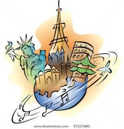 Travel around World Clip Art
