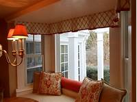valances for bay windows Custom Window Valances Select Color According to Your Style | Window Treatments Design Ideas