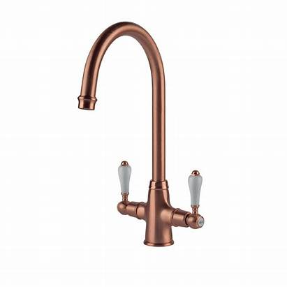 Tap Brass Copper Kitchen Brushed Elegance Clearwater
