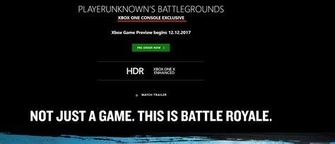 microsoft svela xbox one x data di uscita e prezzo della playerunknown s battlegrounds 232 una esclusiva console xbox