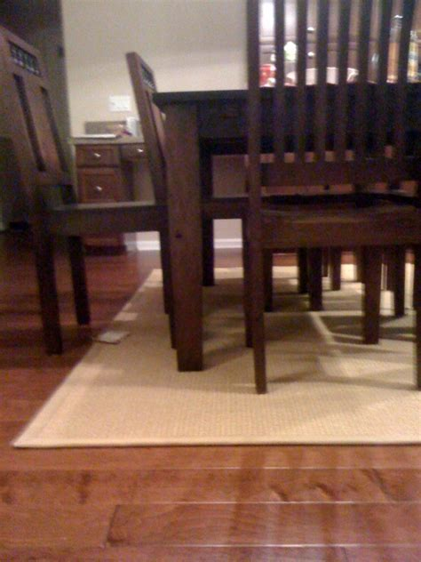 Standard Size Rug For Dining Room Table by Dining Table Area Rug Size For Dining Table