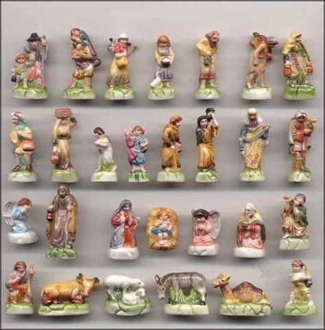 small nativity figures amazing miniature porcelain biblical set of 28 figurines nativity ebay
