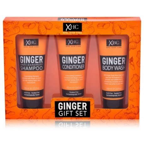 Xpel Ginger ķermeņa un matu kopšanas komplekts 3 x 100 ml