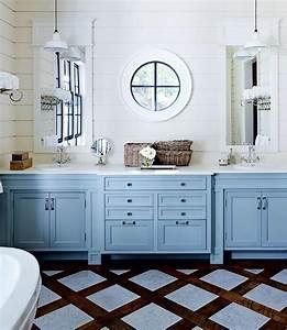 salle de bain decoration mediterraneenne et bord de mer With salle de bain design avec décoration thème de la mer