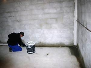 le cuvelage de la cave pour eliminer l39humidite de vos caves With probleme d humidite mur interieur
