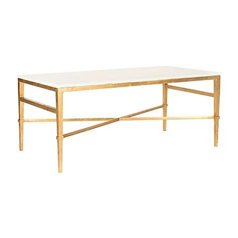 safavieh marble coffee table safavieh acker cocktail table bed bath beyond