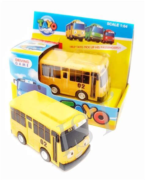 jual koleksi mainan kreatif mainan anak mobil tayo 1 pcs