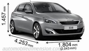 Dimensions 308 Peugeot : dimensions des voitures peugeot longueur x largeur x hauteur ~ Medecine-chirurgie-esthetiques.com Avis de Voitures