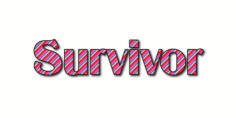 Survivor Logo   Free Name Design Tool from Flaming Text
