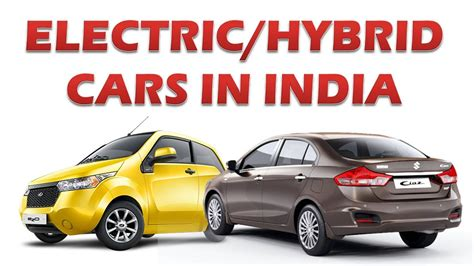 Top 5 Electric/hybrid Cars In India!
