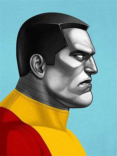 Marvel Mitchell Mike Portraits Illustrations Comic Mondo