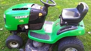 17 5 Hp Sabre Lawnmower 42 Inch Deck