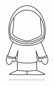 Astronaut Suit Drawing - Pics about space