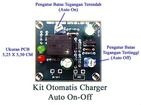 jual kit charger otomatis aki 12 volt dengan relay pemutus type b di lapak ogan jaya asriyi