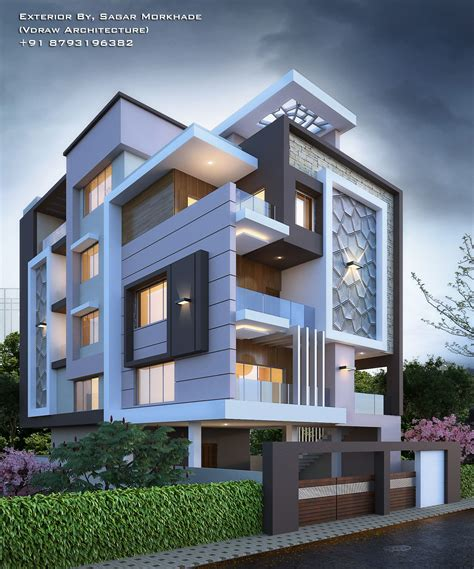 #modern #residential #house #bungalow #exterior By, Sagar