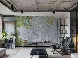 Ausgefallene Tapeten Wohnzimmer : tapeten f r wohnzimmer 30 ausgefallene designs in ~ A.2002-acura-tl-radio.info Haus und Dekorationen