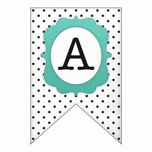free printable alphabet letters banner free design templates With letter banner maker