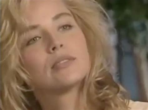 Sharon Stone Proves Exactly Why She Landed That Role In