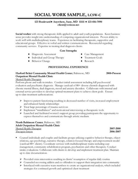 how to write a social work resume 28 images social social work resume exles 2012 case study london
