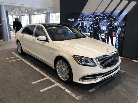 The vehicle bows to welcome you in, lowering its suspension for entry and exit. New 2019 Mercedes-Benz M-Class Maybach S 650 Cars in ...