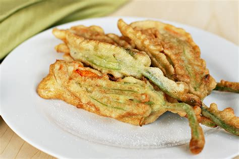 Fried Pumpkin Flowers Food by Fried Stuffed Squash Blossoms