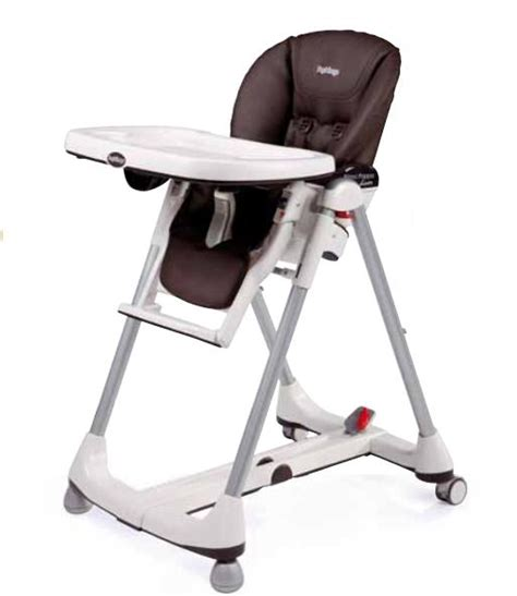 housse pour chaise haute housse de chaise haute peg perego cacao simili cuir les