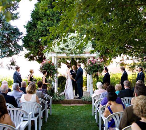 Backyard Garden Wedding by Ideas Of Unique Wedding Ceremonies Weddingelation