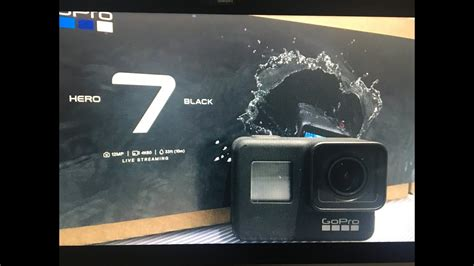 gopro hero black unboxing review youtube