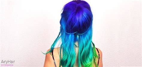 20 Crazy Rainbow Hair Extension Color Ideas For 2018