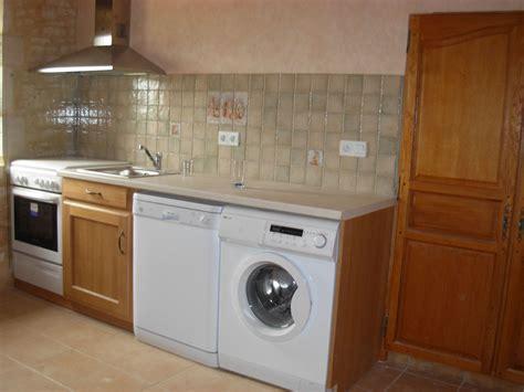 lave linge dans cuisine maison design sphena