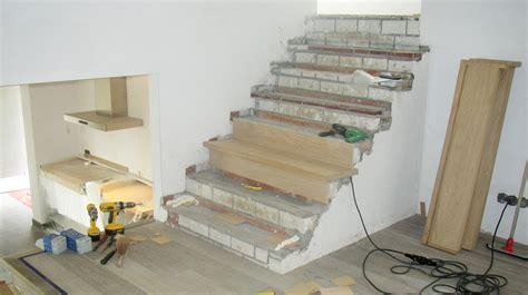 betonnen trap bekleden loft interieur