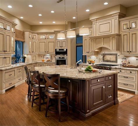 light cabinets dark island kitchens country kitchen