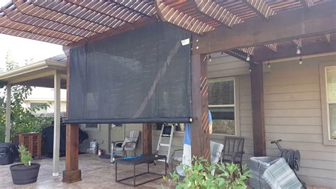 Check spelling or type a new query. DIY outdoor rolling shade - YouTube