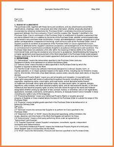 9 terms and conditions for purchase order template With po terms and conditions template