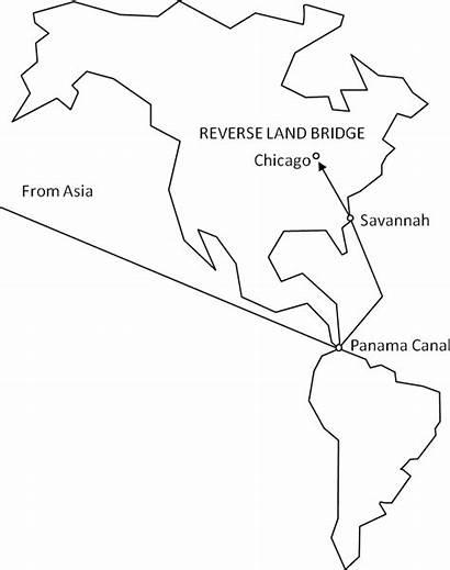 Bridge Land Reverse Micro Landbridge Wikipedia