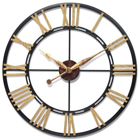 50 inch wall clock oversized metal wall clocks