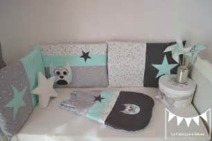 chambre bébé vert et blanc tour lit gigoteuse turbulette gris vert d 39 eau vert menthe