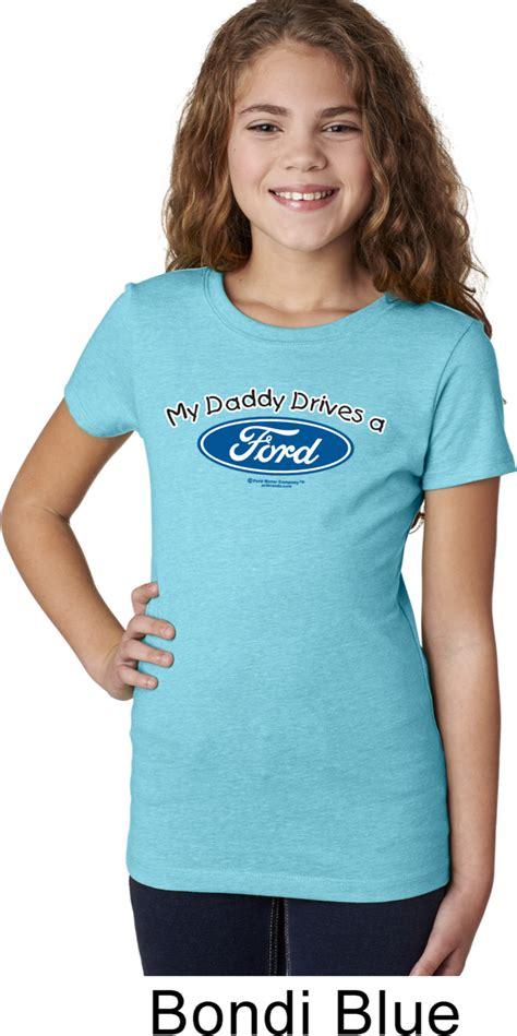 girls ford shirt  daddy drives  ford tee  shirt