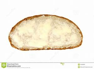 Slice Of Bread And Butter Stock Photos - Image: 18428633