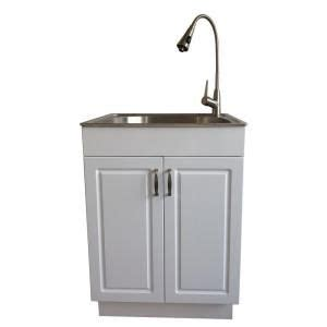 glacier bay laundry sink pull out faucet glacier bay all in one 24 2 in x 21 35 in x 33 85 in