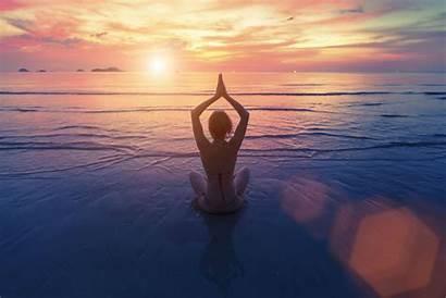 Spiritual Meditation Sea Coast Yoga Meditate Types