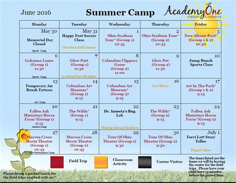 summer camp academyone childcare amp preschool 859 | June Camp 2016