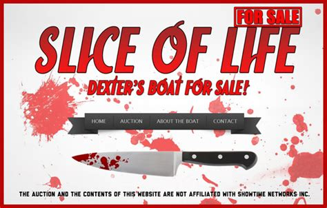 Fishing For Life Boat Auction by Dexter Morgan S Slice Of Life Screen Used Tv Prop Boat