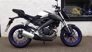 Yamaha Mt 125 Sportauspuff : yamaha mt 125 race blue first look engine start up rev ~ Kayakingforconservation.com Haus und Dekorationen