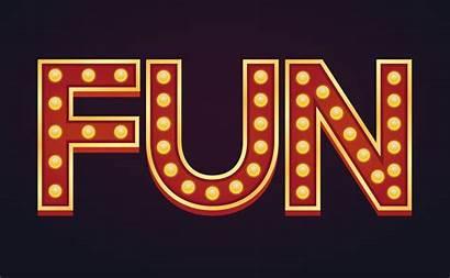 Marquee Bulb Sign Banner Fun Vector Alphabet