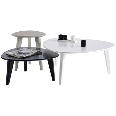 Set Of Three Table Ls by Set 3 Tables Basses Gigognes Demeyere