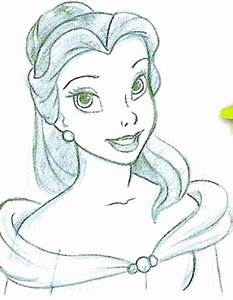How To Draw Belle Beauty And The Beast Art Pinterest